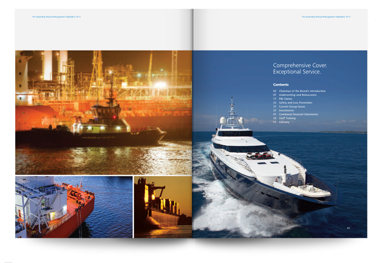Steamship Mutual annual report