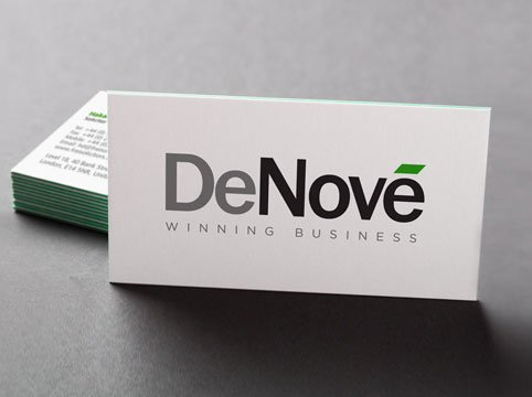 DeNove business cards