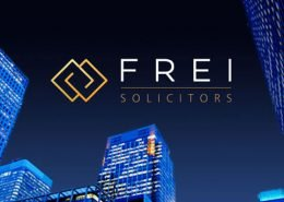 Frei Solicitors brand identity