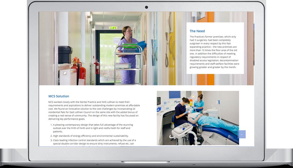 Medical Centre Development web site