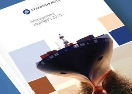 Steamship Mutual marketing collateral