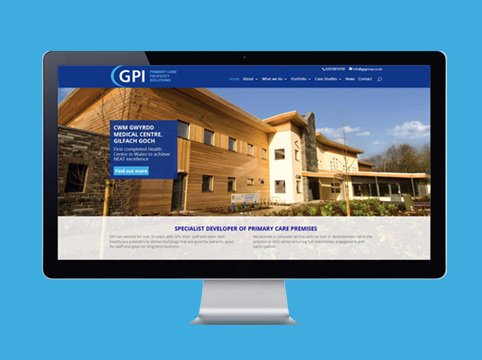 GP Group website