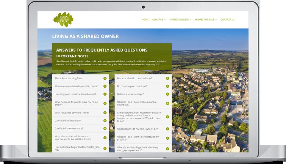 Rural Housing Trust website