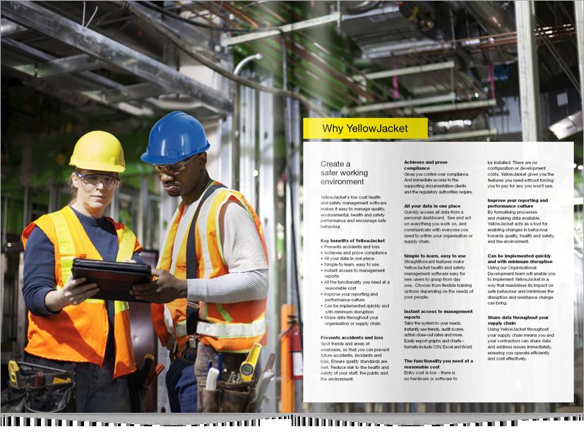 YellowJacket brochure